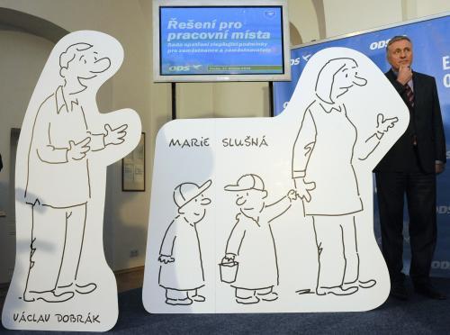Maskoti, kteří budou provázet kampaň ODS