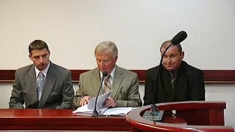 Michal Jehurnov a Jakub Kunčar u soudu