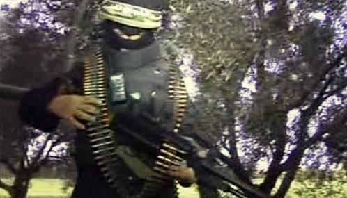 Bojovník hnutí Hamas