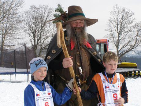 Dětské zimní hry v Krkonoších