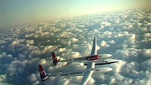 Letadlo Steva Fossetta