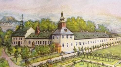 Historická podoba zámku v Javorné u Bochova