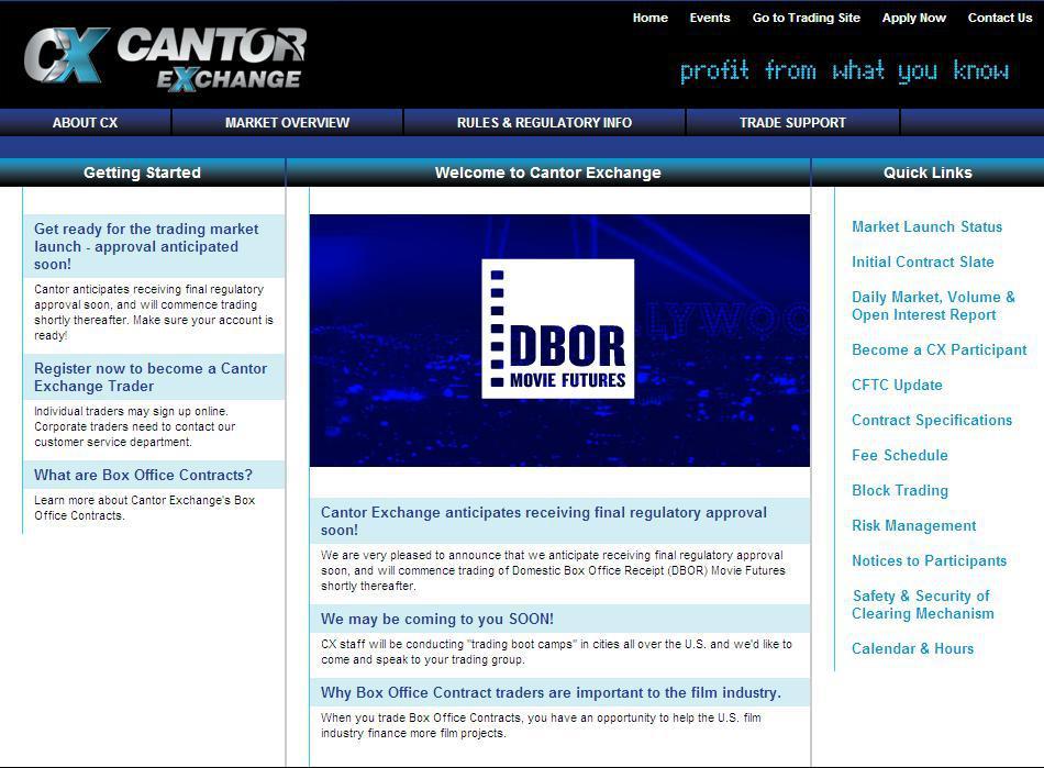Cantor Exhchange