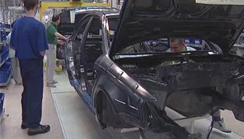 Výroba vozů Škoda Octavia