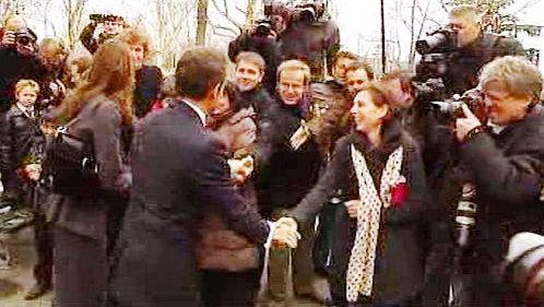 Nicolas Sarkozy a Carla Sarkozyová Bruniová