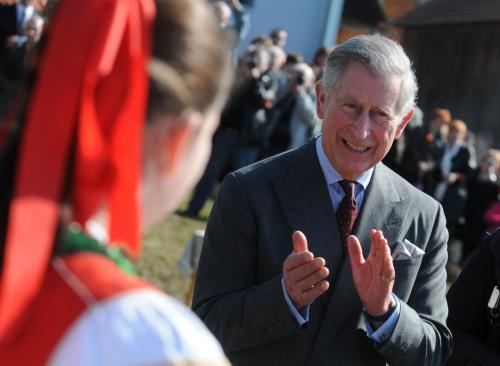 Návštěva Charlese v Hostětíně