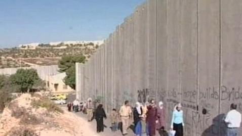 Izraelská bariéra