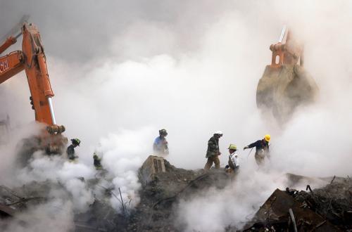 Záchranáři na Ground Zero