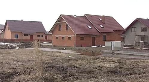 Výstavba rodinných domků v v obci Humburky