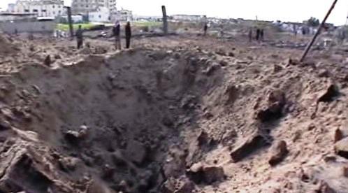 Poničené pásmo Gazy