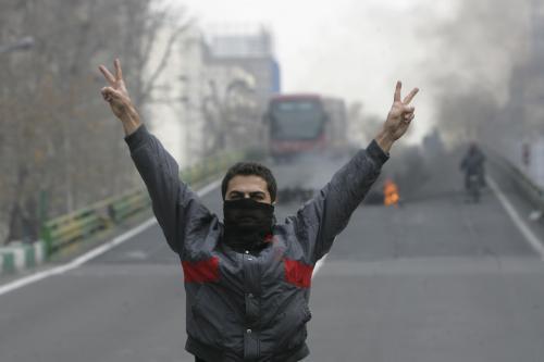 Sympatizant íránské opozice