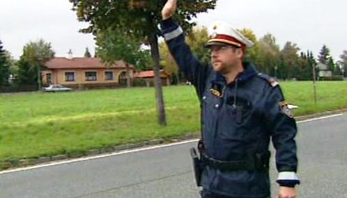 Policejní kontrola v Rakousku