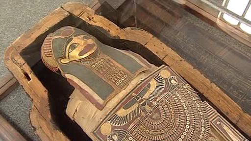 Královny na Nilu - exponát z výstavy