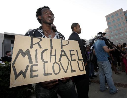 Fanoušci Michaeala Jacksona