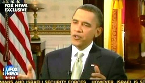 Barack Obama v rozhovoru pro Fox News