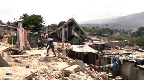 Port-au-Prince v troskách