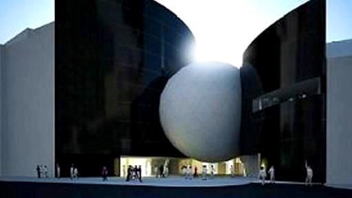 Návrh futuristického komplexu