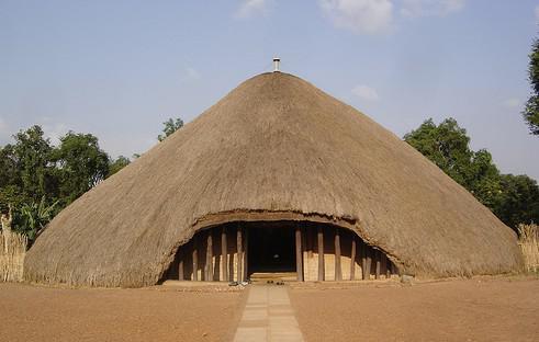 Královské hrobky v Kampale