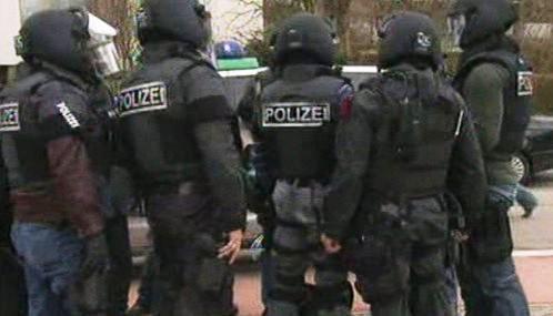 Německá zásahová jednotka