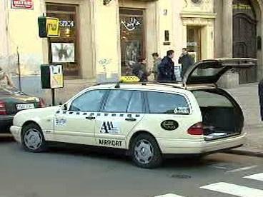 Vůz taxi