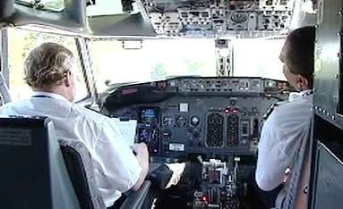 Pilotní kabina letadla
