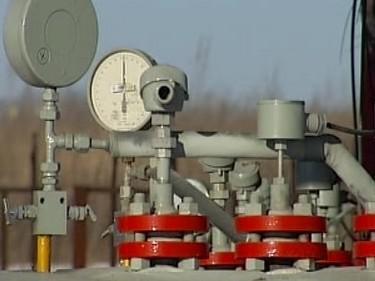 Měřicí přístroje na plynových ventilech
