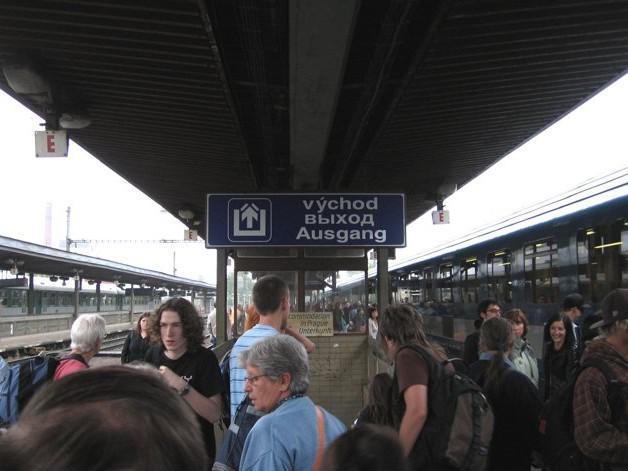 Železniční stanice Praha-Holešovice