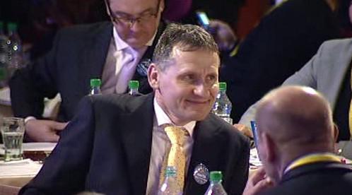 Jiří Čunek na sjezdu lidovců v roce 2009