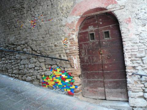 Práce výtvarníka Jana Vormanna v italském Bocchignanu