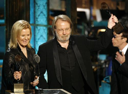 ABBA vstoupila do rokenrolové síně slávy