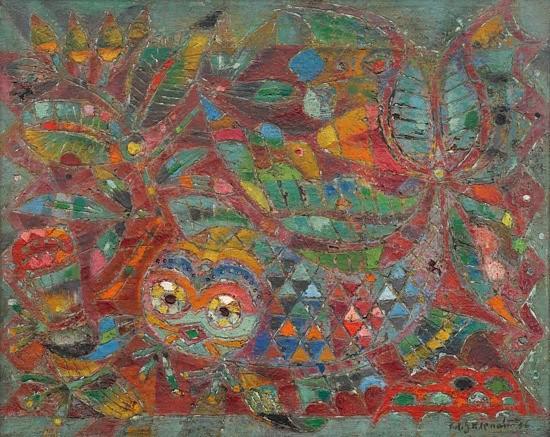 Zdeněk Sklenář / Pekingská ryba (1956)