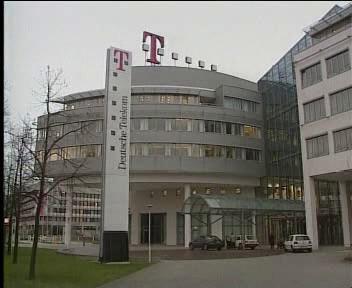 Budova německého Telekomu