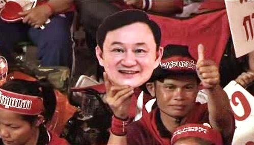 Protesty stoupenců bývalého thajského premiéra