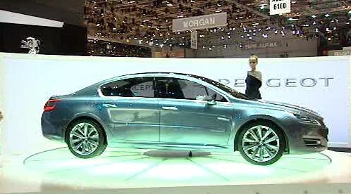 Studie vozu Peugeot