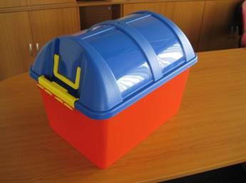 Nebezpečný box na hračky PIRÁT 1695 KIDS