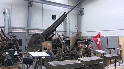 Expozice vojenského muzea