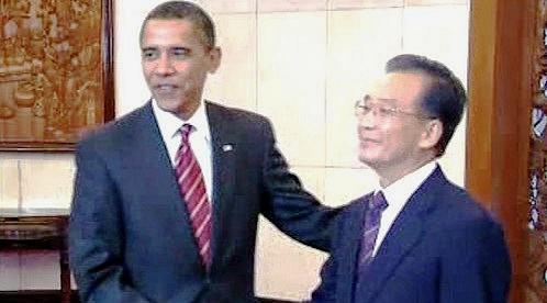 Barack Obama a Wen Ťia-pao