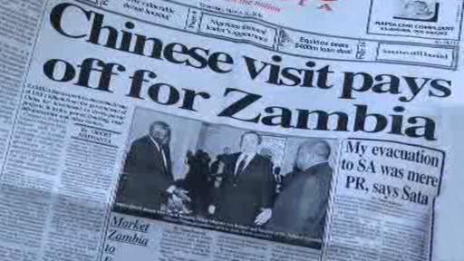 Čína expanduje na trh Zambie