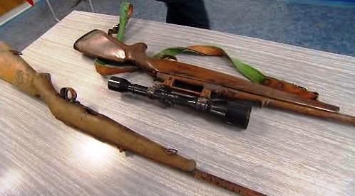Nalezené zbraně