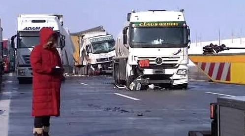 Následky hromadné dopravní nehody