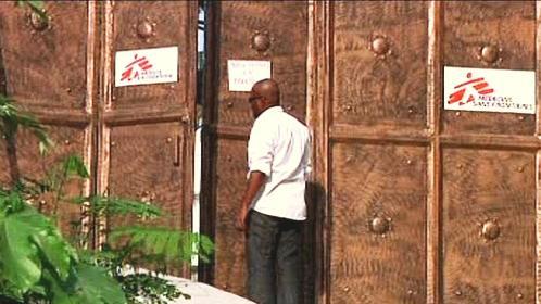 Mise Lékařů bez hranic na Haiti