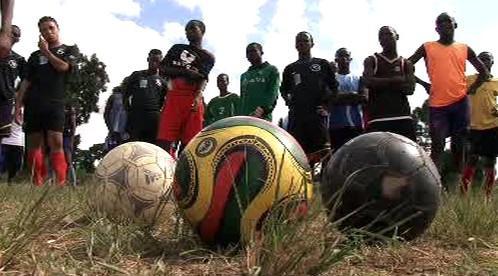 Mladí zambijští fotbalisté