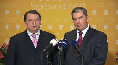 Jiří Paroubek a Petr Hulinský