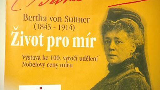 Bertha von Suttner – Život pro mír
