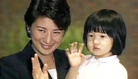 Japonská princezna Masako a její dcera Aiko