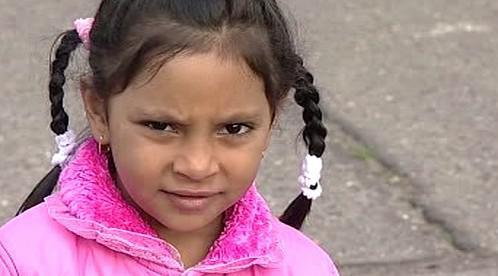 Romská holčička