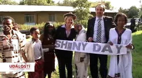 Ministr zahraničí Jan Kohout v Etiopii