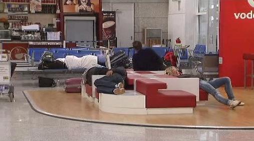 Stávka na řeckém letišti