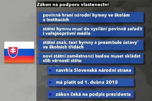 Slovenský vlastenecký zákon