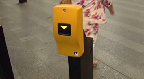 Označovač jízdenek v metru